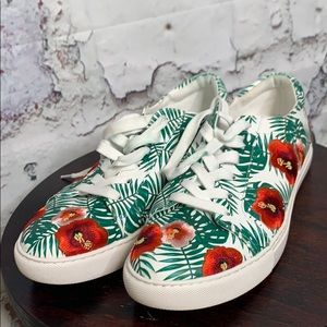 Kenneth Cole floral print sneakers 8